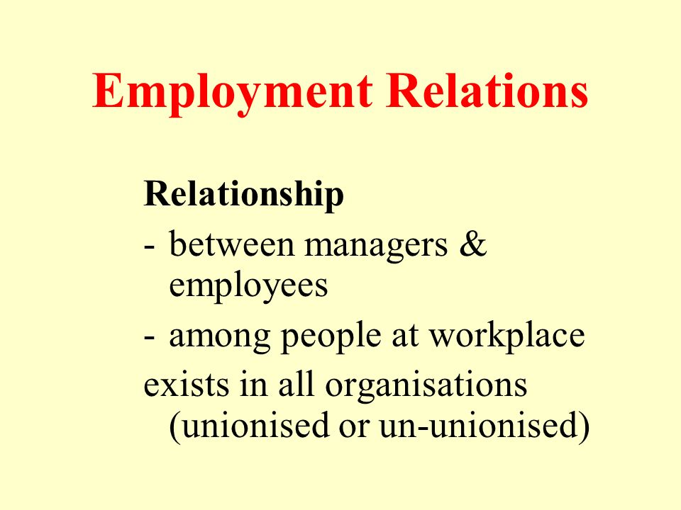employment relationship in singapore Singapore, with total land area of 7191 square kilometers, has total population of  5535 millions as of 2015 the population consists of 3902 millions of.