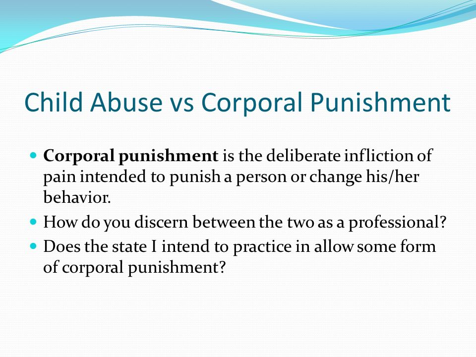abuse vs discipline Discipline or abuse image credit:  ho says, she has found that there is a sense of uncertainty, at times, in differentiating discipline from abuse and when you.
