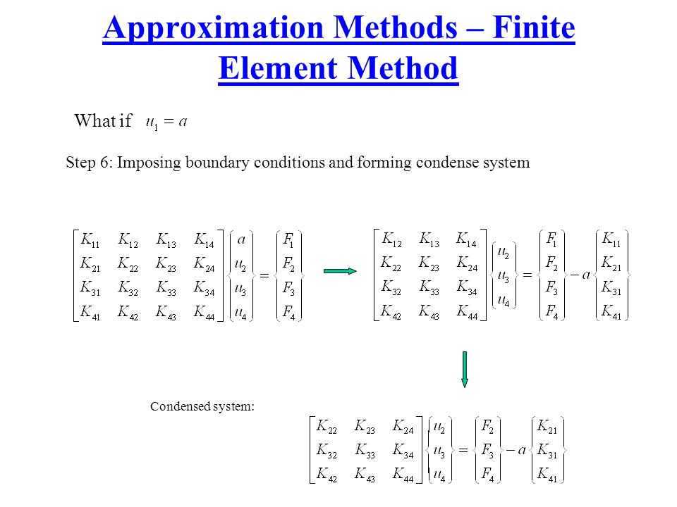 Mech4450 introduction to finite element methods ppt for Finite element methode