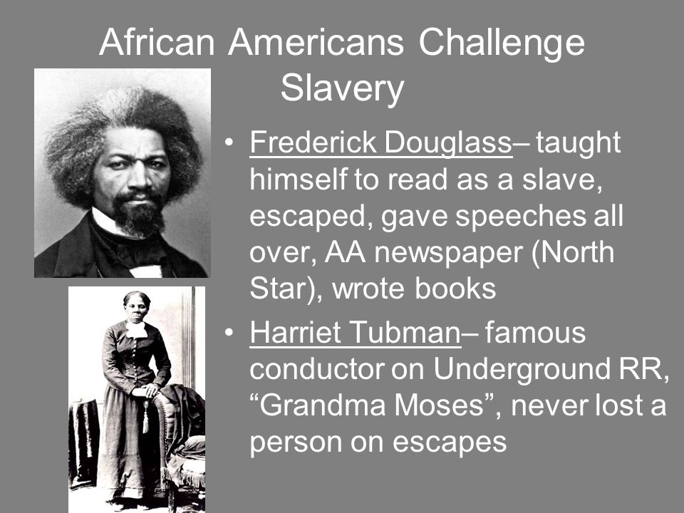 harriet tubman and frederick douglass relationship