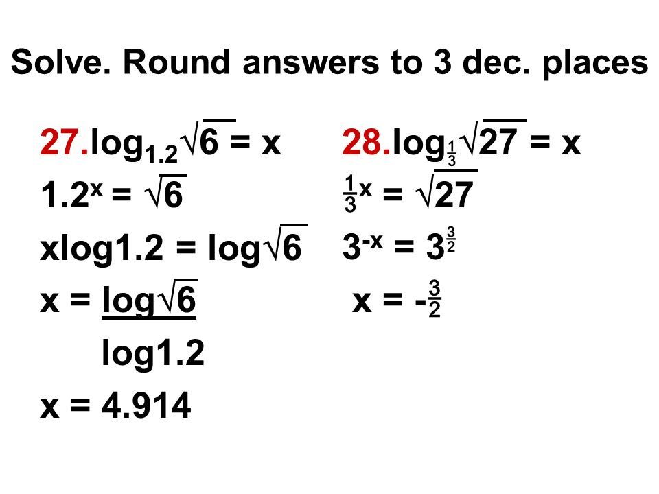 log equations review obj  review for quest ppt video
