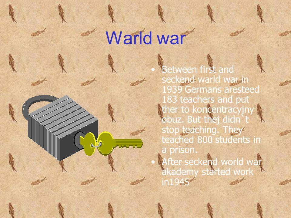 Warld war