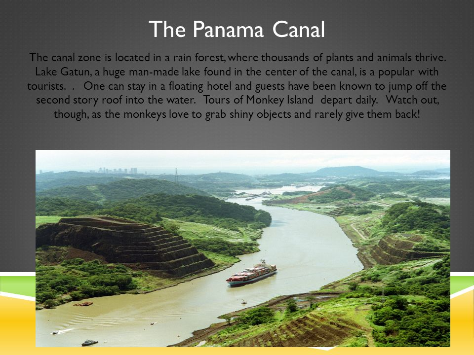 Panama Canal Tours Through Locks And Monkey Island