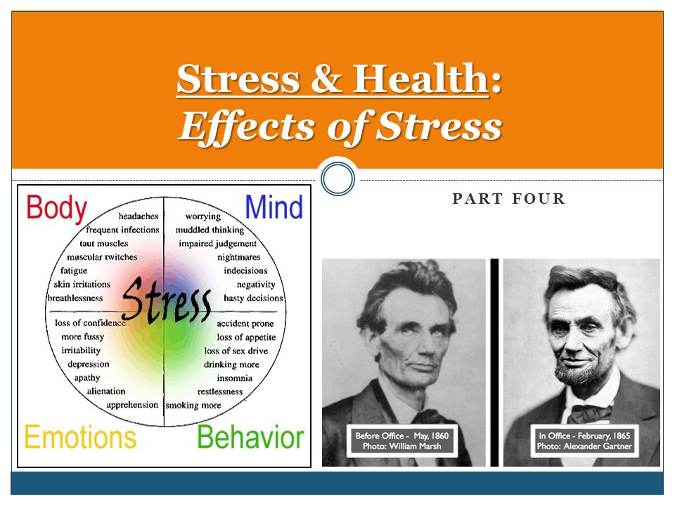 impact of stress on health Here are 25 ways that stress can affect the body  the good news is that there is  much you can do to reduce the impact of stress in your life.