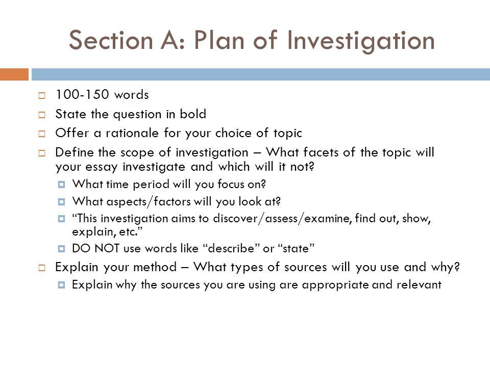 international baccalaureate internal assessment essay