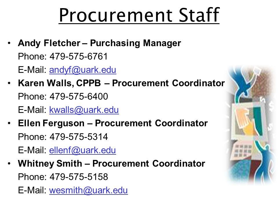 4 procurement
