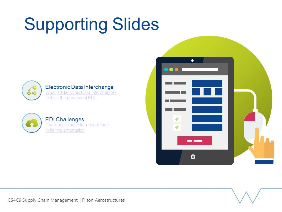 Electronic Data Exchange : Es c supply chain management ppt video online download
