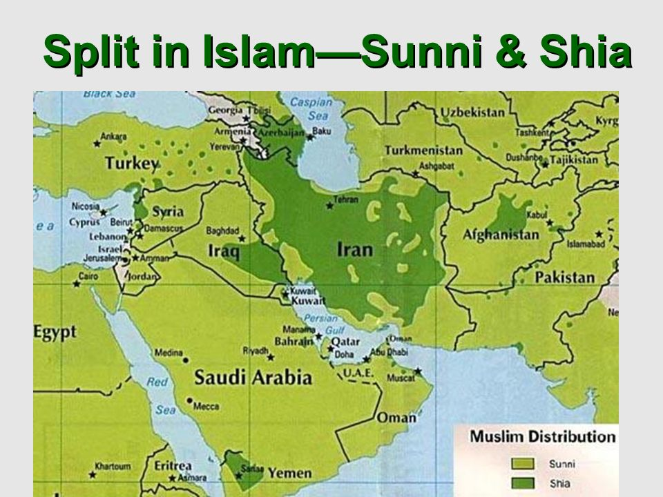 Split of islam
