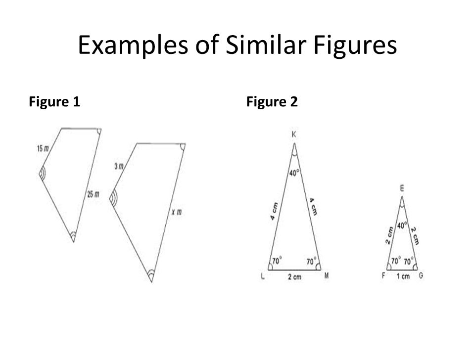 Examples of Similar Figures