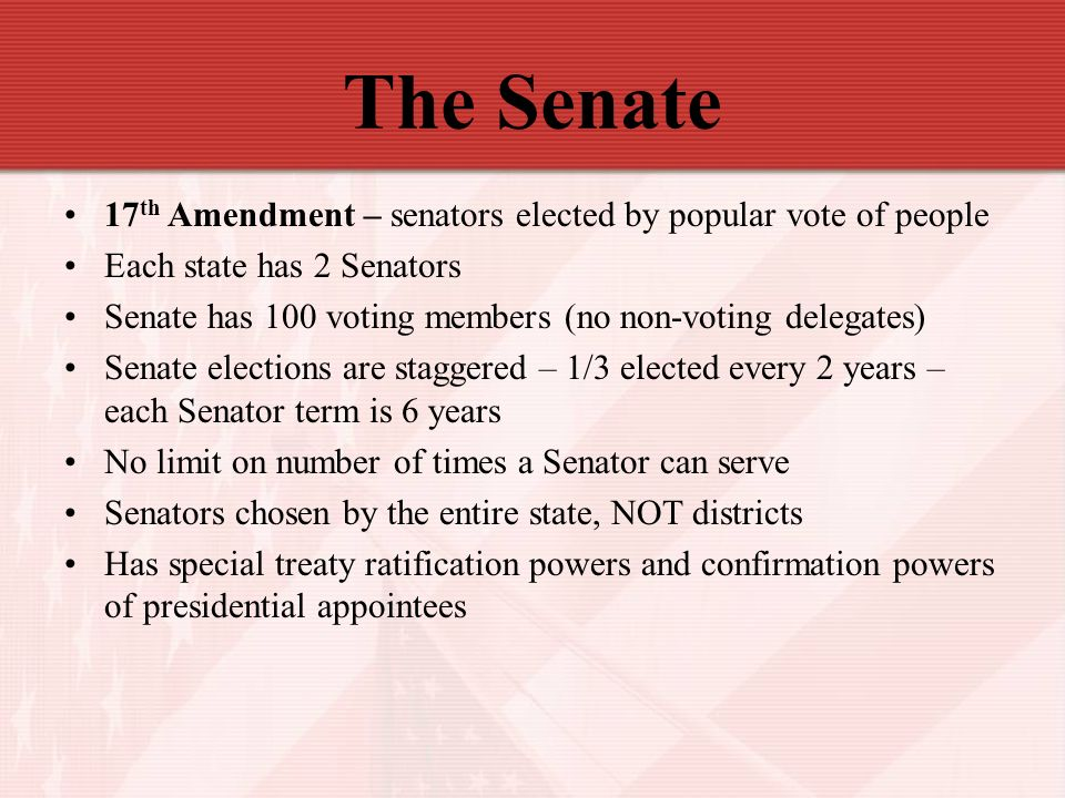 The Senate 114th Congress Ppt Download
