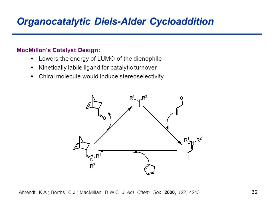a study of the diels alder cycloaddition reaction The mechanism and stereochemistry of the diels-alder reaction are examined here this cycloaddition is one of the coolest reactions in organic chemistry.