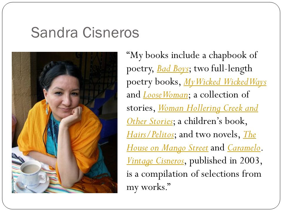 24 Points on Caramelo by Sandra Cisneros