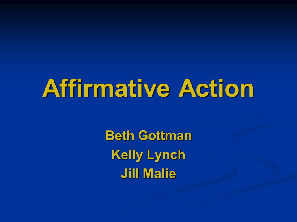 a description of what affirmative action truly means Affirmative action federal, national and state compliance resources - regulations, laws, and state-specific analysis for employers and hr professionals.