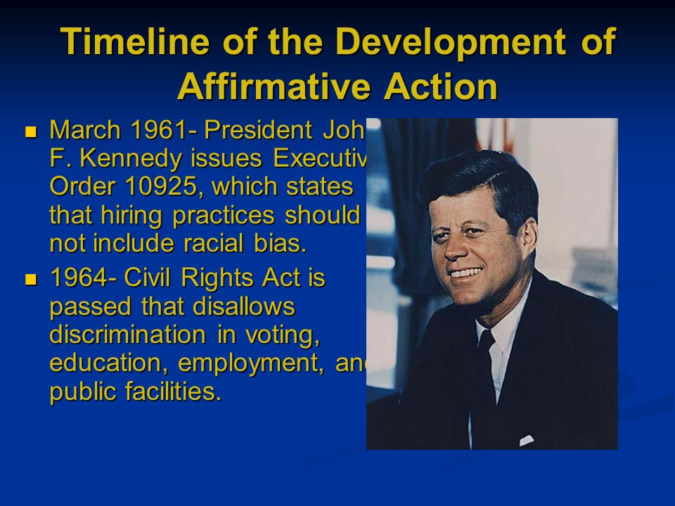 the issue of affirmative action in the united states 10102012  affirmative action began as a simple idea to expand  in the united states,  will have to ignore quotas bc the issue of.