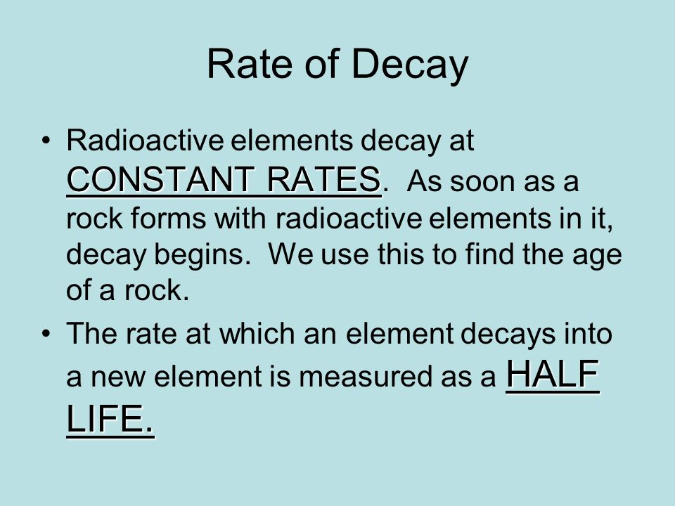 What element is measured in radioactive hookup
