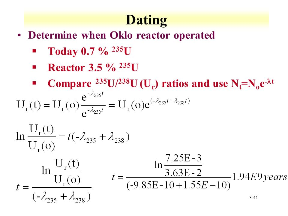 RFSS and NFSS: Lecture 3 Radioactive Decay Kinetics - ppt ...