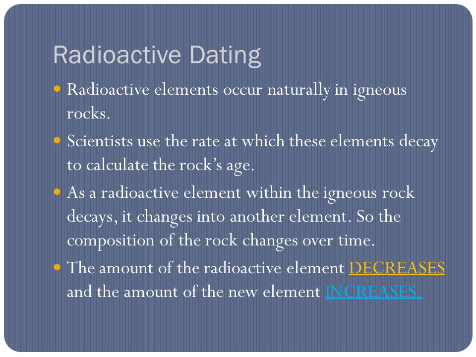 What type of rock works best for radioactive hookup