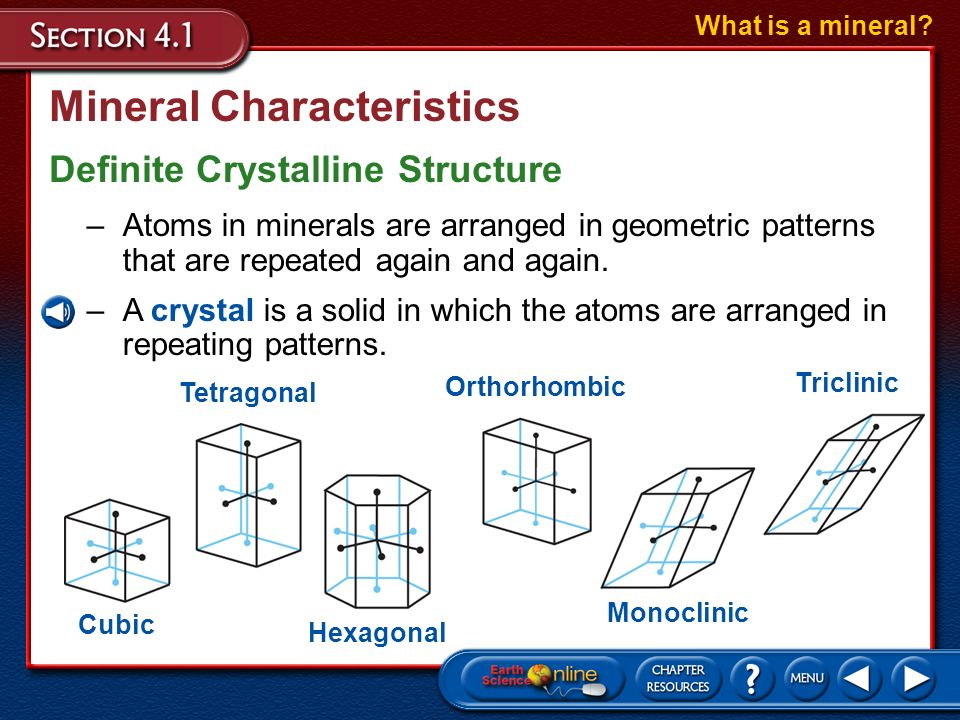 the form and structure of minerals The structure of two common clay minerals silica alumina silica hydrogen ions alumina alumina alumina  clay mineral form and habit at high magnification (showing.