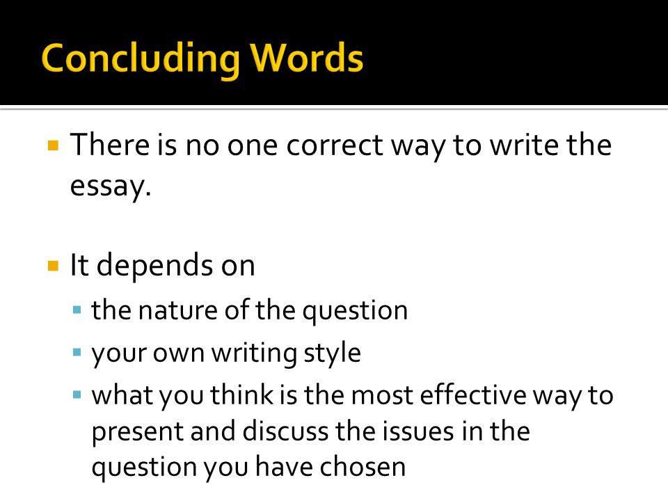 essay terms discuss Common terms for paper topics and essay questions  identification terms: cite, define, ennumerate,  discuss: examine,.