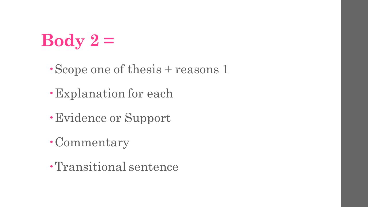 main body essay structure Ten steps for writing an essay write the main body of the essay essay writing: what is an essay essay writing: structure.