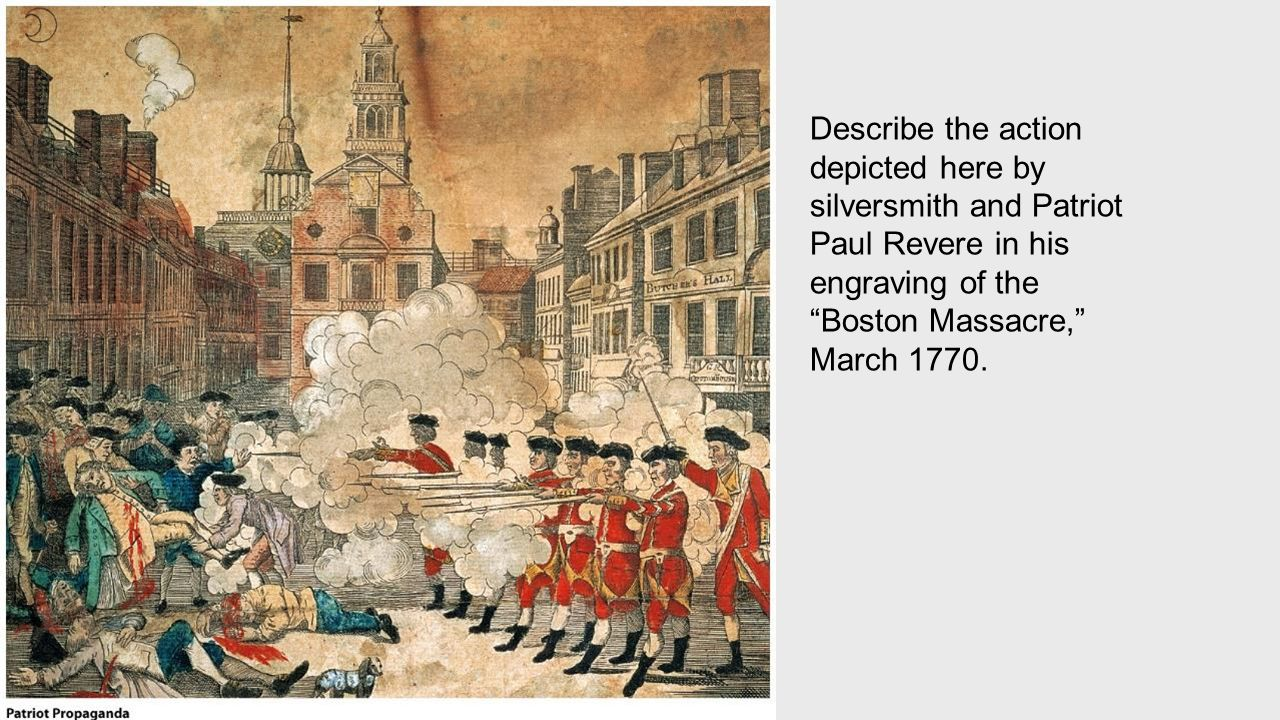 paul revere s depiction of the boston Archaeologists in boston may have unearthed paul revere's bathroom  that  said, archaeologists still have to verify that the structure in question is, indeed,   if accurate, it would join other recent theories that are drawing a revised picture of .