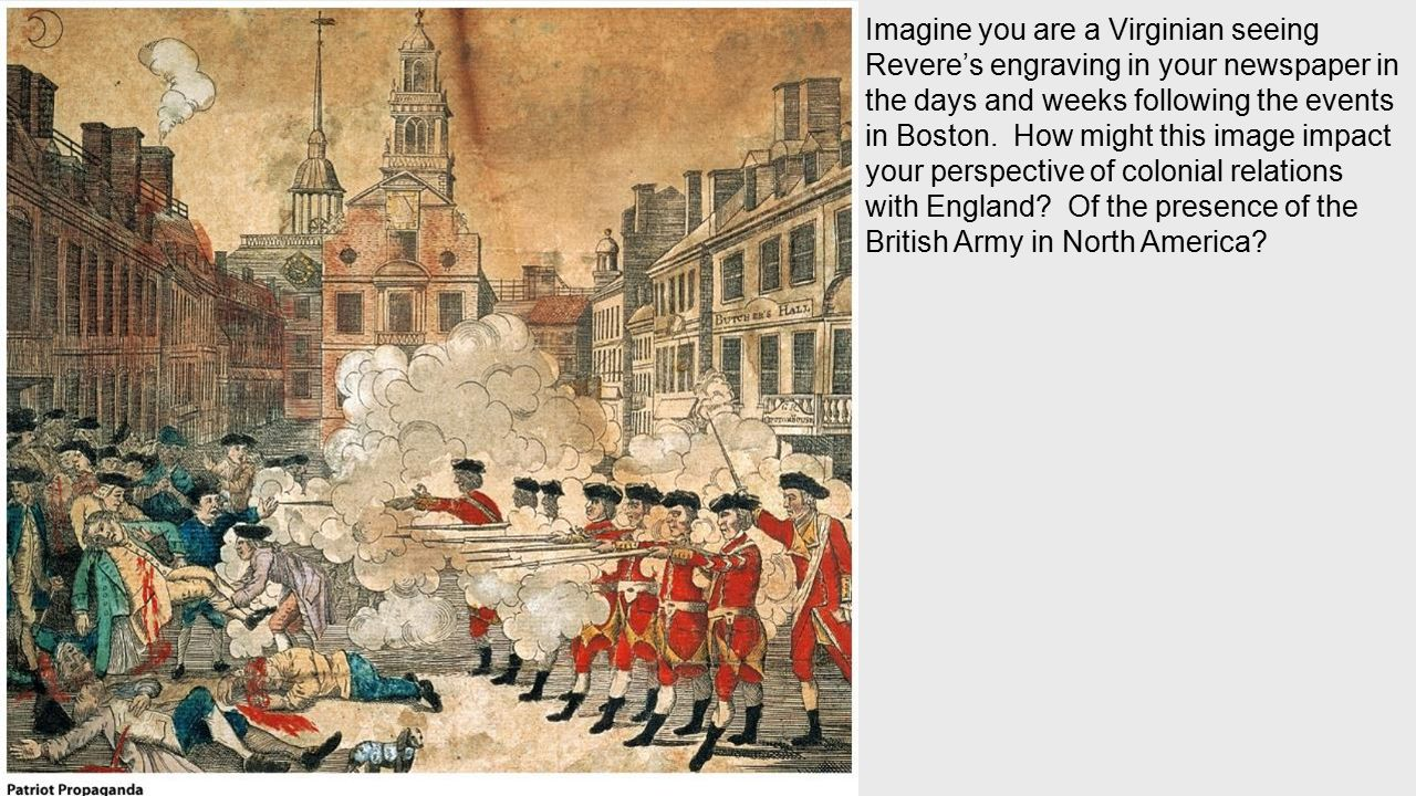 a comparison of the british army and the american army from a patriots perspective The colonists living in the british north american colonies who american revolution — faqs the american patriots, whether serving in the regular army or.