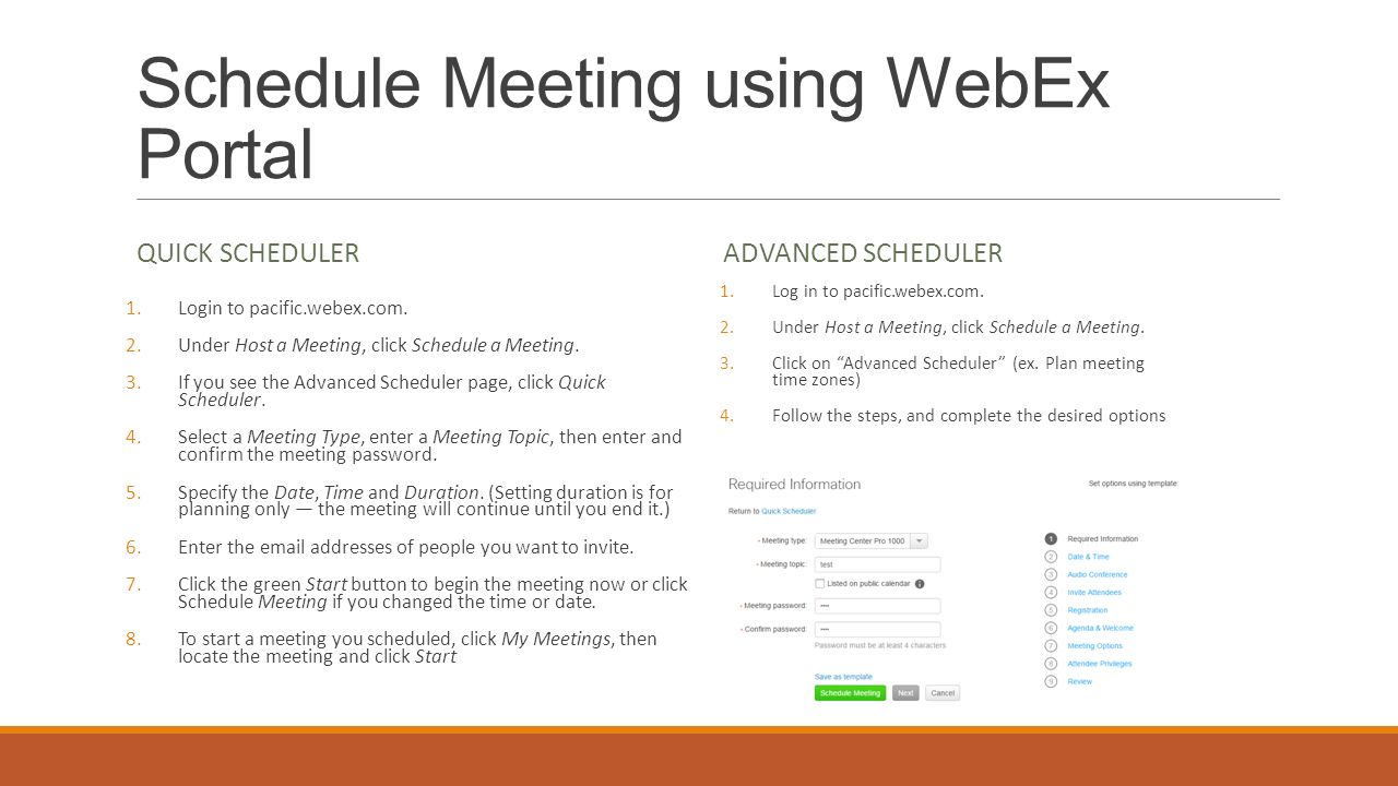 schedule a meeting email