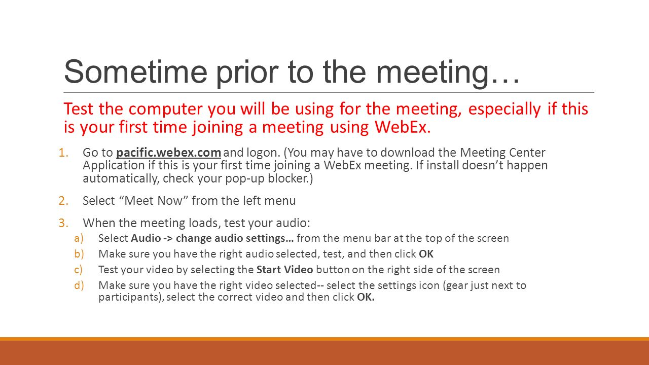 Webex Meetings Download