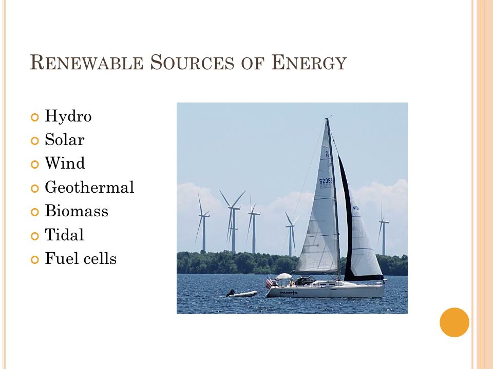hydropower geothermal power and wind power as three alternative sources of natural energy to power t Renewable resources include biomass, geothermal, wind, hydro and solar   hydropower works a lot like wind power - a natural force (in this case it's  3 if  solar isn't one of our main sources of energy (yet), then what's so.