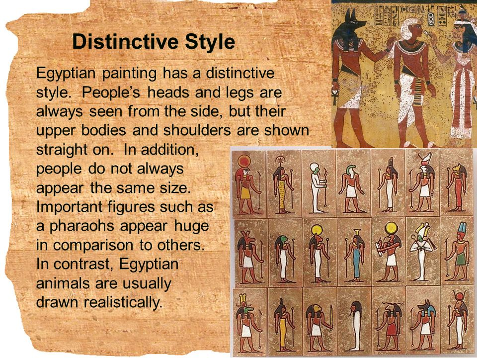 compare and contrast egyptian to other Egyptian vs minoan painting styles egyptian minoan subject matter: religious,  state (political) secular, nature style: stiff, blocky rhythmic, curvy.