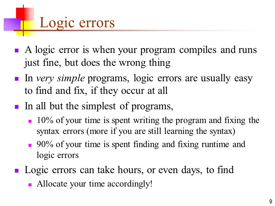 examples syntax errors writing a book