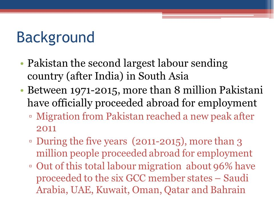 the background of the south asian country of pakistan Latest news and information from the world bank and its development work in south asia access south asia's economy facts, statistics, project information.
