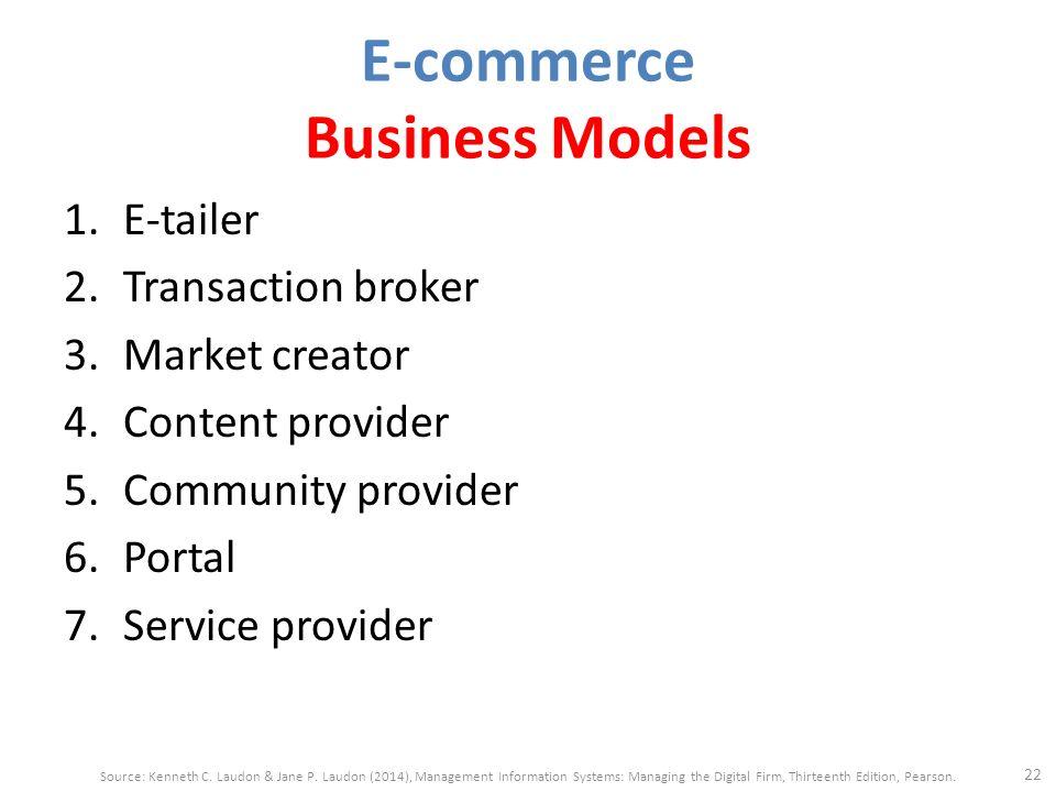 Information broker business model