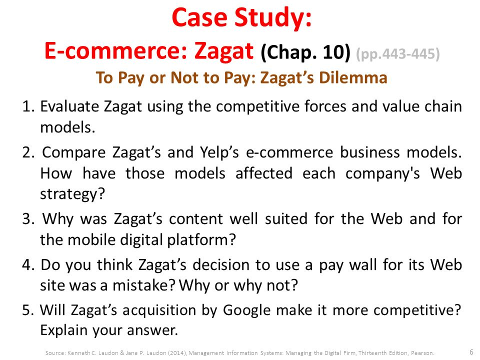 e commerce case study Case studies based on indonesia situations  literature study (software requirement, development of e-commerce website and key  e-commerce needs special.