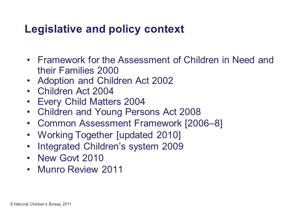 Child Care and Protection Act