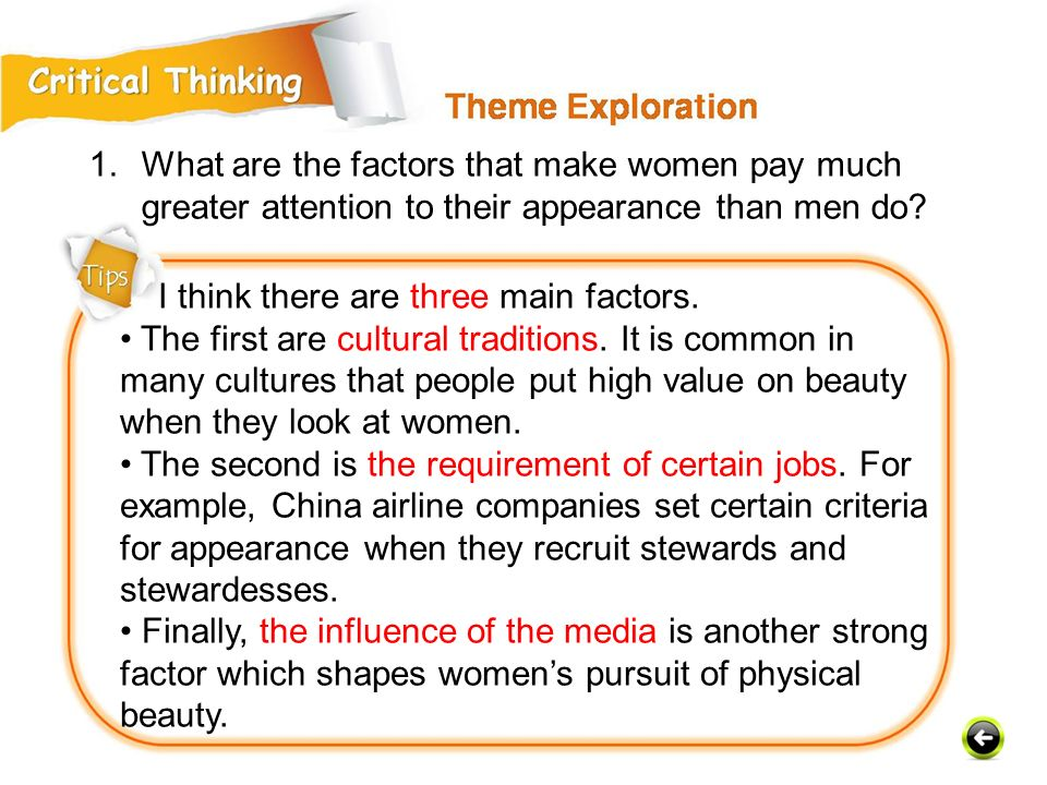 What are the factors that make women pay much