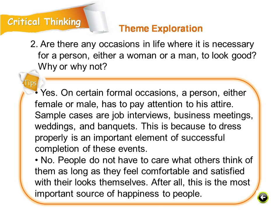 2. Are there any occasions in life where it is necessary