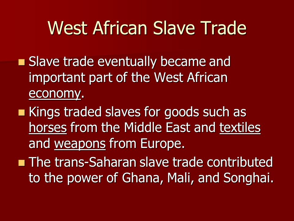 insights on the domestic slave trade essay Trans-atlantic slave trade (essay) the trans-atlantic slave trade had a massive impact the british, west indies, africa, and the emerging african american culturethe british were impacted with massive profits, to the disadvantage of many parts of africa, where large amounts of men and women from all around the continent were forced into slavery.
