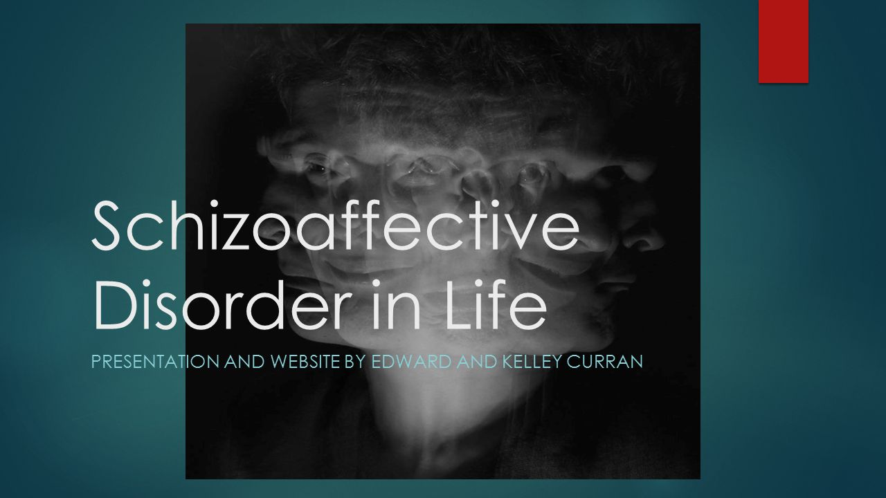 living with schizoaffective disorder essay I hope that this blog will be a helpful tool for people living with schizoaffective disorder.