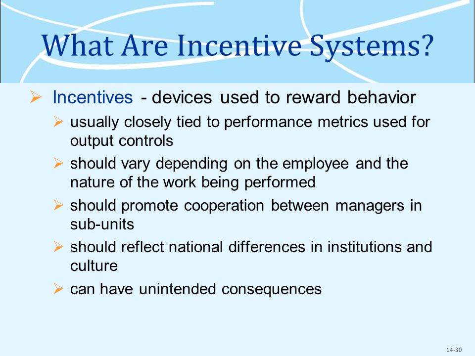 incentive systems Incentive systems nordea offers competitive, but not market leading compensation packages nordea has a total remuneration approach to compensation that recognises the importance of well-balanced but differentiated remuneration structures based on business and local market needs, as well as the importance of remuneration being.