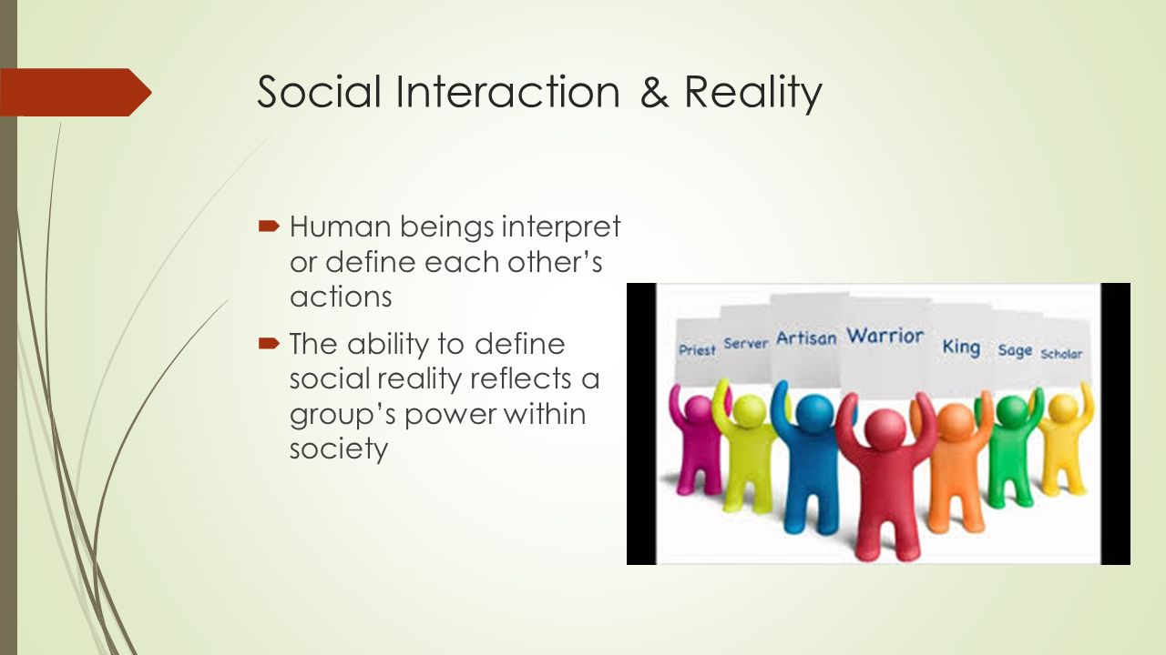 Questions on Social Interaction
