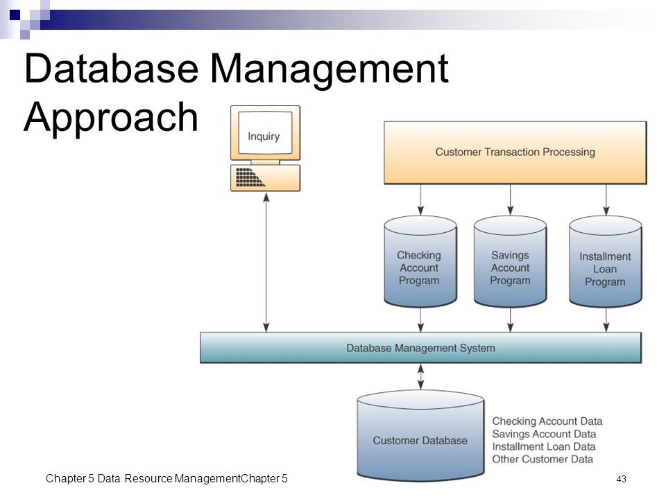 Chapter 5 Data Resource Management Ppt Video Online Download