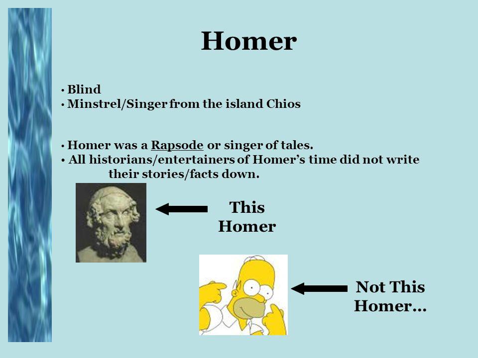 what books did homer write