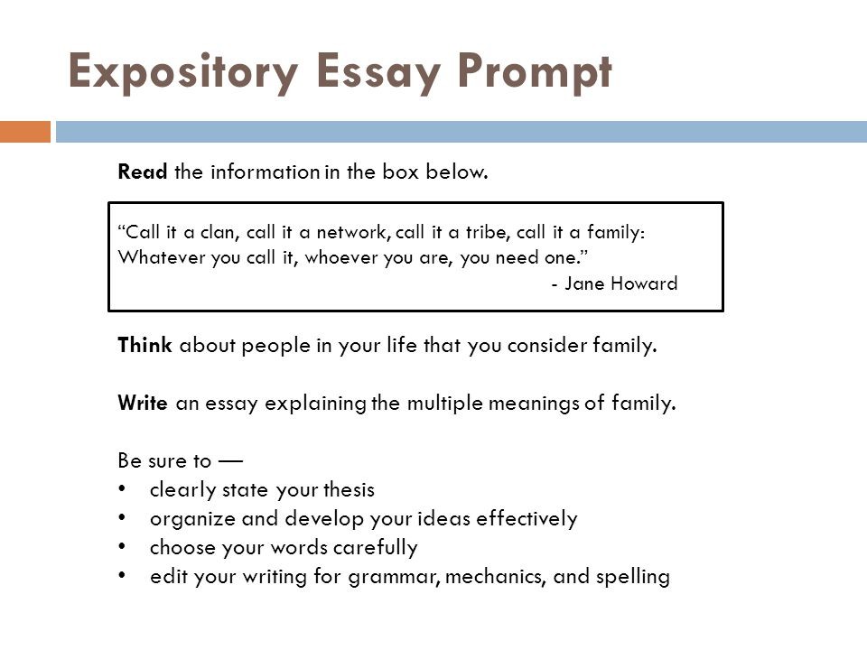 thesis for expository essay This resource provides tips for creating a thesis statement and examples of different types of thesis example of an expository (explanatory) thesis statement.