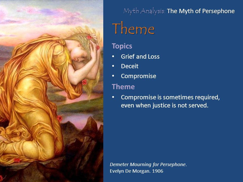 an analysis of persephone Persephone, falling is a sneaky sonnet we know it's a sonnet because it is fourteen lines long and has a clear turn after the eighth line, just where we would expect it in an italian sonnet.