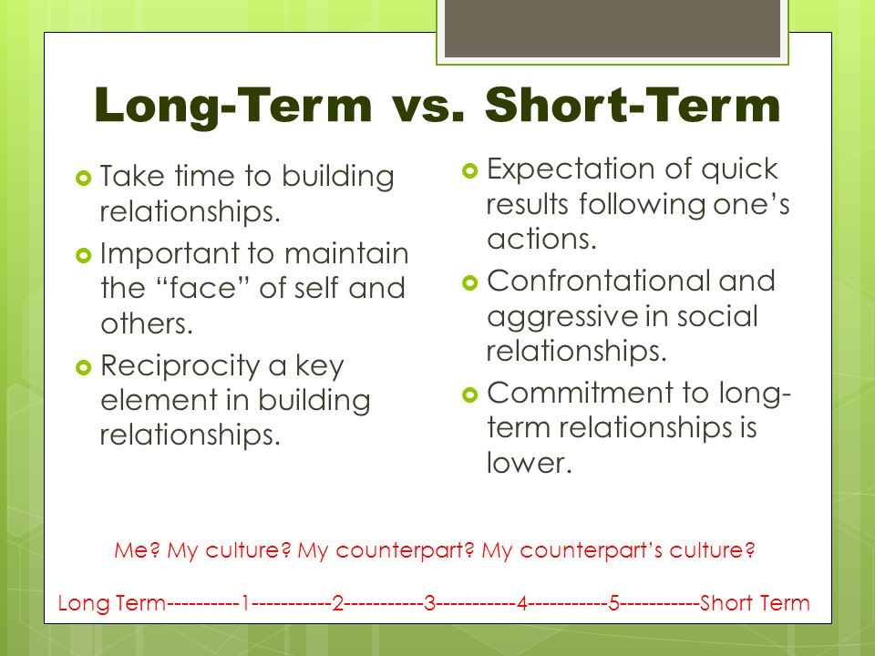bargaining builds long-term relationships essay Interested readers can find a copy of this paper and all future evolutions on my  web site  result, establish rapport with your opponent, and build on that  foundation  in cases where the parties will have a long-term relationship after  closure.