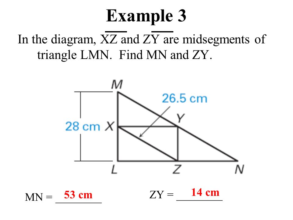 The Midsegment Theorem ppt video online download – Midsegments of Triangles Worksheet