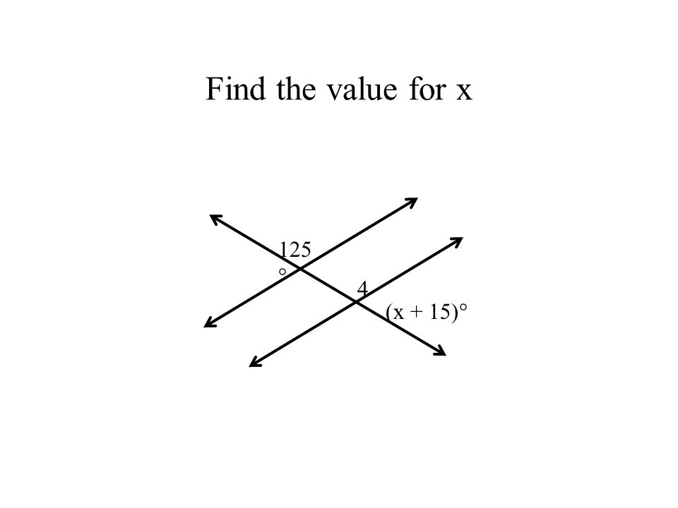 how to find missing angles in a transversal diagram
