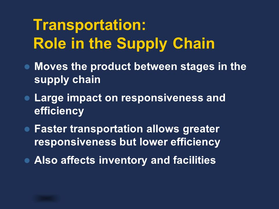 supply chain responsiveness and efficiency Supply chain the economy  top 25 supply chains of 2018  jun 25, 2018  responsiveness now trumps efficiency his prediction: soon, those companies that .