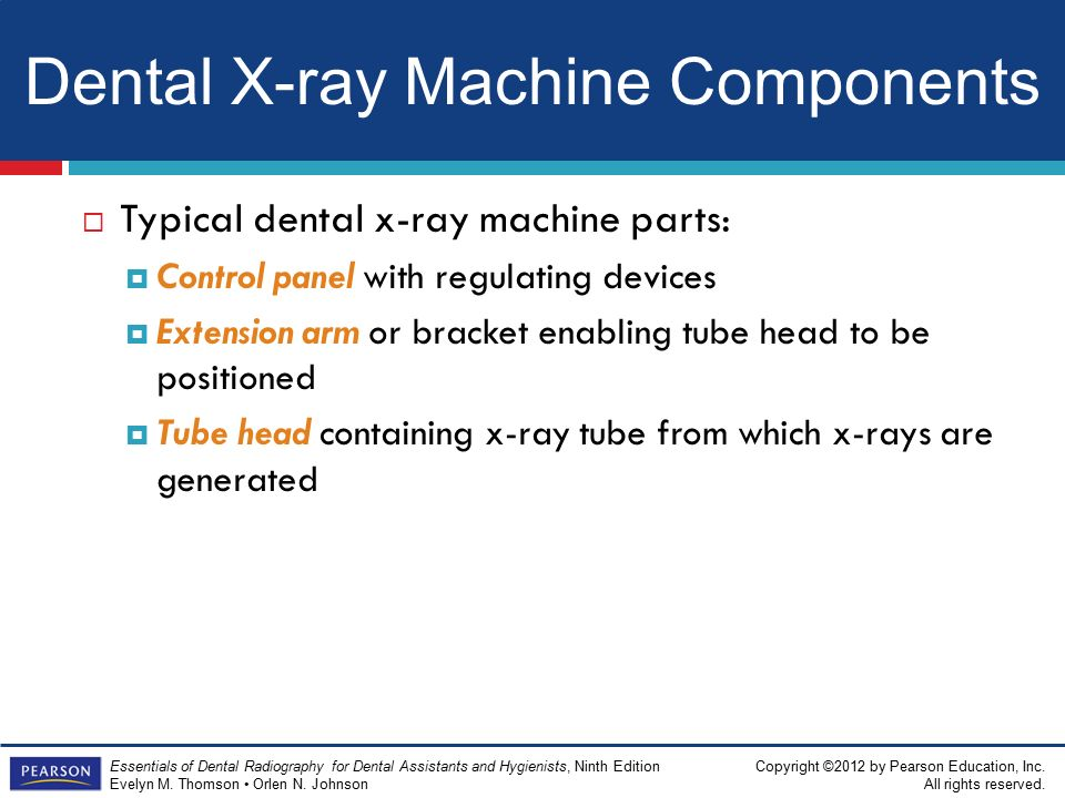 how to use x ray machine